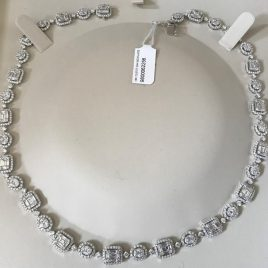 12.67 Carat Diamond Necklace