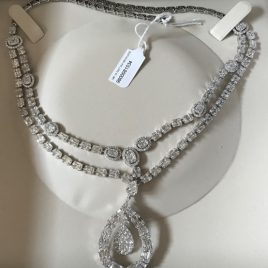 14.74 Carat Diamond Necklace